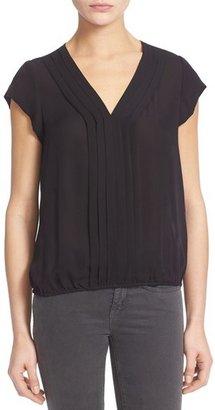 Women's Joie 'Marcher' Pleated Silk Top $188 thestylecure.com