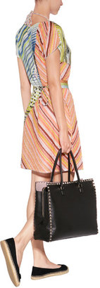 Missoni Mare Sheer Knit Belted Tunic Dress