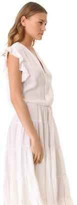 L'Agence La't by Sleeveless Dress with Ruffles
