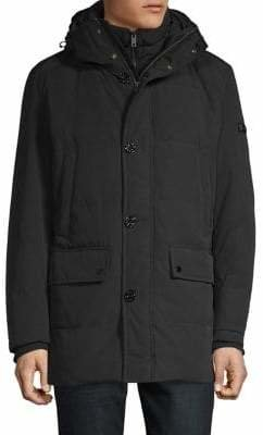 Strellson Double-Front Hooded Jacket