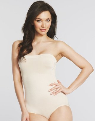 Maidenform Control It Shiny Strapless Shaping Body