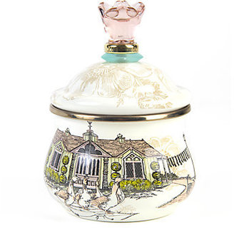 Mackenzie Childs MacKenzie-Childs Aurora Lidded Sugar Bowl