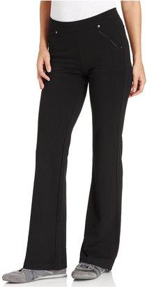 Calvin Klein Pants, Bootcut-Leg Ponte-Knit Pull-On