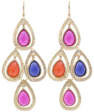 Tryst Style Teardrop Chandelier Earrings