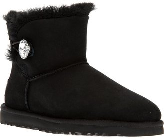 UGG 'Mini Bailey Button Bling' boot