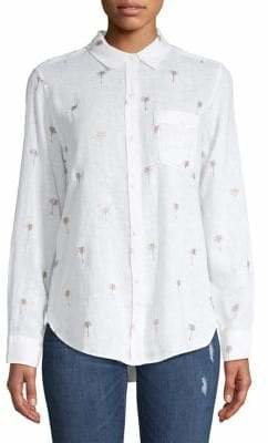 Rails Embroidered Button-Down Shirt