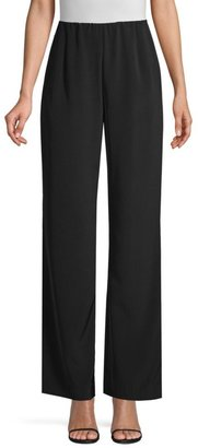 Lafayette 148 New York Luxe Stretch Crepe De Chine Studio Pant