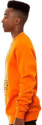 Crooks & Castles Crooks and Castles The Firing Squad Sweatshirt in Orange