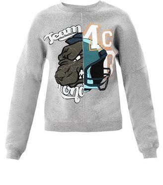 McQ by Alexander McQueen Team varsity sweatshirt