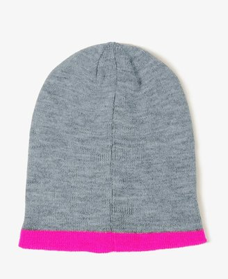 Forever 21 Two-Tone Beanie