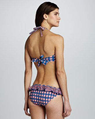 Marc by Marc Jacobs Molly Printed Ruffle Swim Bottom