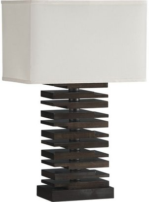 Crate & Barrel Channel Table Lamp