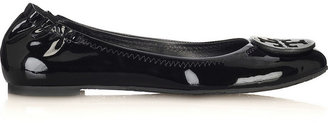 Tory Burch Reva Patent-Leather Ballet Flats