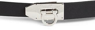 Salvatore Ferragamo Flip-Lock Leather Belt