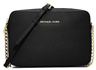 MICHAEL Michael Kors Jet Set Travel Large East/West Chain Strap Cross-Body $148 thestylecure.com