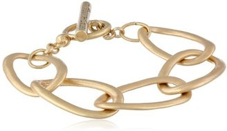 Kenneth Cole New York Gold-Tone Link Toggle Bracelet, 7.5""