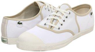 Lacoste Rene Assymetric FS (White) - Footwear