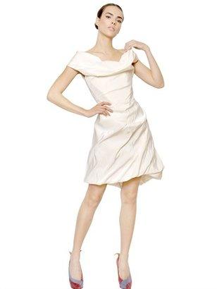 Vivienne Westwood Draped Silk Faille Dress