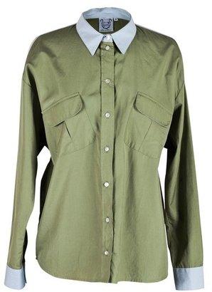 Thierry Colson Kent Green Pocket Shirt
