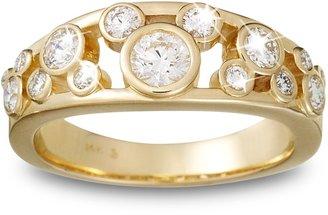Disney Diamond Mickey Mouse Ring for Women 18K Yellow Gold