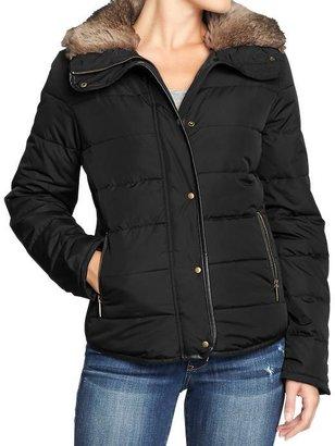 Old Navy Women's Frost Free Faux-Fur Trim Jackets