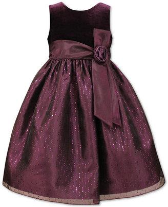 Jayne Copeland Empire-Waist Sparkle Dress, Big Girls (7-16) $84 thestylecure.com