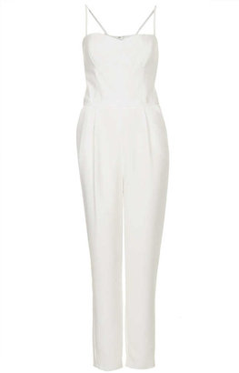Topshop Strappy Tapered Jumpsuit