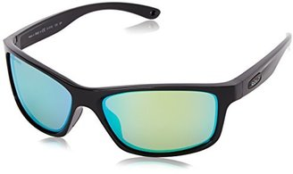 Revo RE 4071 Harness Polarized Rectangular Sunglasses $179 thestylecure.com