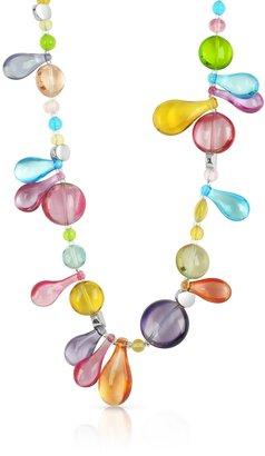 Antica Murrina Lapilli - Long Murano Glass Necklace $138 thestylecure.com