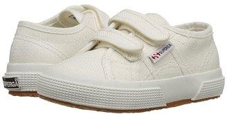 Superga 2750 JVEL Classic (Toddler/Little Kid) (White) Kids Shoes