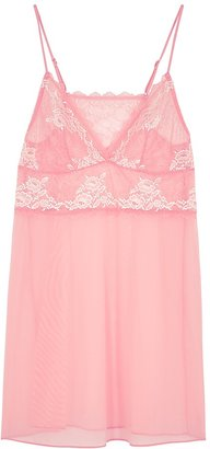 Wacoal Lace Perfection Pink Lace Chemise
