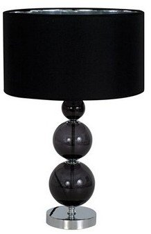 Salt&Pepper Mood 3 Ball Lamp Black 54cm