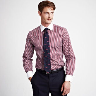 Thomas Pink Eustear Stripe Shirt - Double Cuff