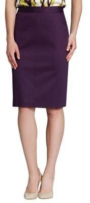 Jones New York Collection Mixed Media Skirt