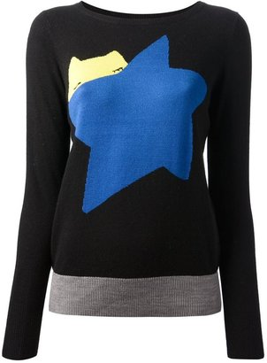 Tsumori Chisato Cats By long sleeve sweater