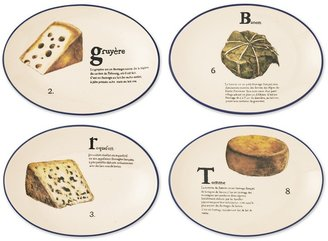 Williams-Sonoma Frommage Francais Appetizer Plates, Set of 4