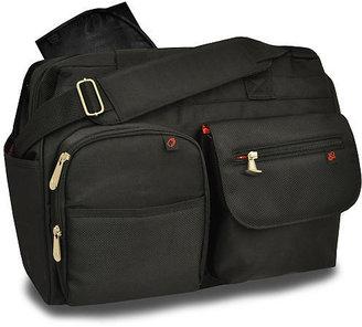 Fisher-Price Fastfinder Diaper Bag - Black