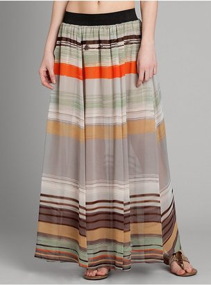 GUESS by Marciano Izia Stripe Maxi Skirt