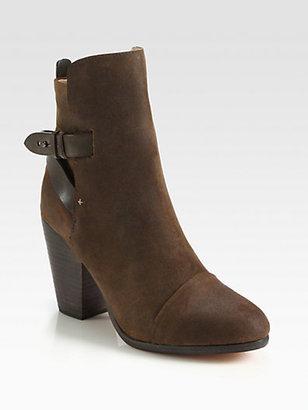 Rag and Bone Rag & Bone Kinsey Nubuck Leather Ankle Boots