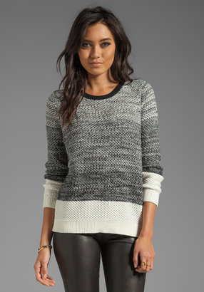 Shae Moss Stitch Pullover