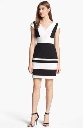 Marc New York Two Tone Sheath Dress