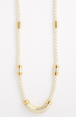 Vince Camuto 'Rope Royalty' Long Station Necklace