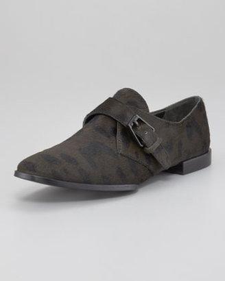 Alexander Wang Ruby Monk Shoe, Calf Hair