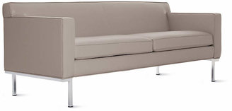 Design Within Reach Theatre Sofa in Leather