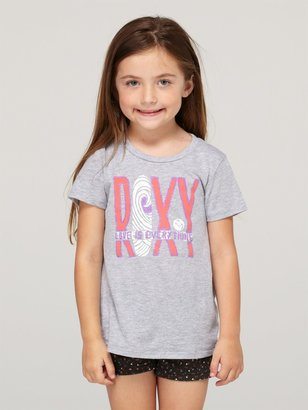 Roxy Girls 2-6 Dare To Be Harmony Tee Shirt