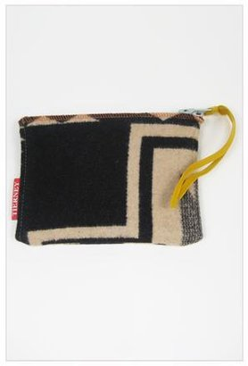 Pendleton Julie Mother F'ing Tierney Zip Bag in with Yellow Pull and Blue Zip