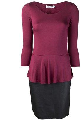Velvet 'Rhetta' dress