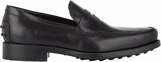 Tod's Men's Boston Leather Penny Loafers - Black