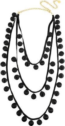 Stella McCartney Silk ball necklace