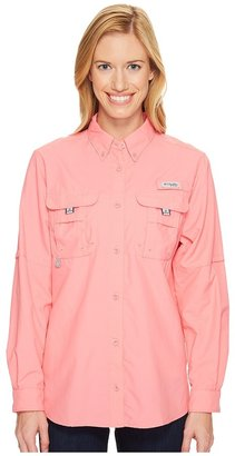 Columbia - Bahama L/S Shirt Women's Long Sleeve Button Up $45 thestylecure.com